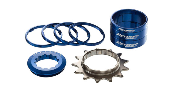 Reverse Single Speed Kit - Cassette - bleu